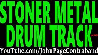 Stoner Metal Drum Track 100 bpm DRUMS ONLY Doom