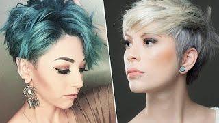 Модное окрашивание на короткие волосы 2020