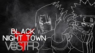 【fr Sub + Romaji】Naruto Shippuden ED 27 | Black Night Town