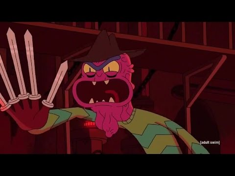 [Rick and Morty] Scary Terry (all scenes)