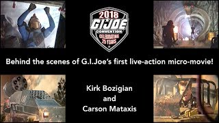 Behind the scenes of G.I.Joe's first live-action micro-movie!