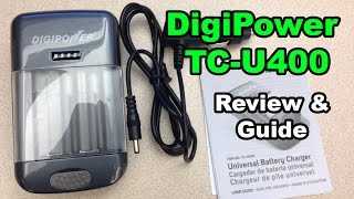 Digipower TC-U400 Universal Battery Charger Review