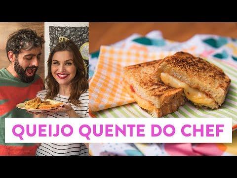 Queijo quente do chef! | O Chef e a Chata