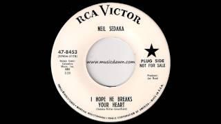 Neil Sedaka - I Hope He Breaks Your Heart [RCA Victor] 1963 Northern Soul 45