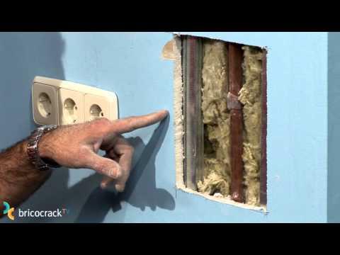 Reparar un agujero en un tabique de yeso (Bricocrack)