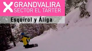 preview picture of video 'Descenso por Esquirol y Áliga. El Tarter, Andorra'