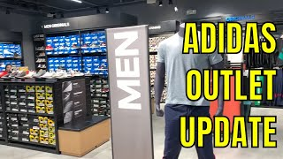 ADIDAS COLLABS SITTING AT THIS HIDDEN OUTLET (PHARRELL, DBZ, ETC.)