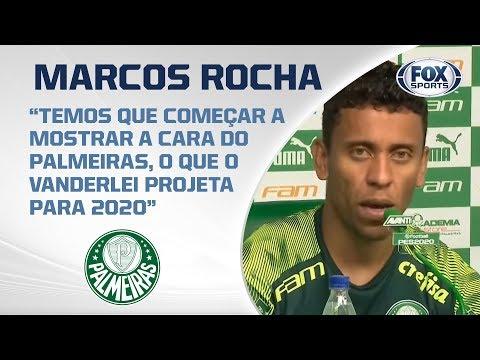 PALMEIRAS AO VIVO! Coletiva com Marcos Rocha antes do clássico contra o São Paulo