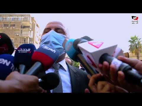 وزير النقل يتفقد عمارة الزمالك: ماكينة الحفر مرت تحت سفارة البحرين وهذا ما حدث لعقار الشربتلي