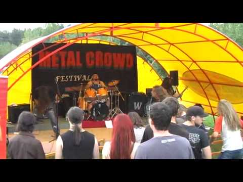 Hell's Thrash Horsemen   Abomination Live at Metal Crowd Festival Rechitsa, Belarus 13 08 2011