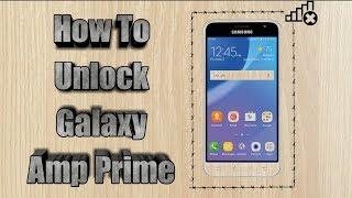 How to unlock Cricket Samsung Galaxy Amp Prime | Sim Unlock Galaxy Amp Prime