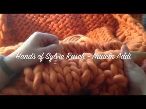 XXXL Decke stricken leicht gemacht - ohne Wenden