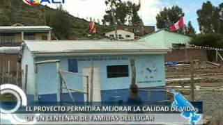 preview picture of video 'Planta Piscícola de Chicharro en el lago Titicaca'