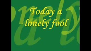 Today's Lonely Fool   Tracy Lawrence   Lyrics