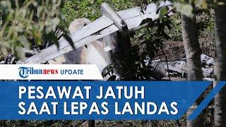 Pesawat LearJet 45 Milik Angkatan Udara Meksiko Jatuh setelah Lepas Landas, Seluruh Penumpang Tewas