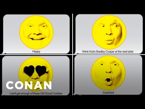 Conan Thinks We Need Emoji For More Hard-To-Describe Emotions