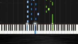 Avicii - Addicted To You - Piano Tutorial by PlutaX - Synthesia