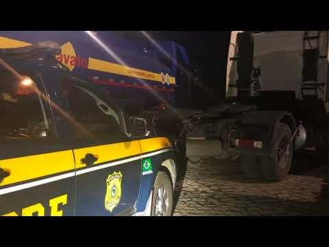PRF recupera caminhão roubado