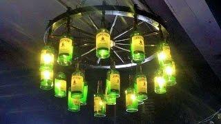 Liquor Bottle Bar Lighting & Chandeliers