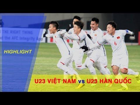 U23 Việt Nam rơi điểm đáng tiếc trước U23 Hàn Quốc tại VCK U23 Châu Á 2018