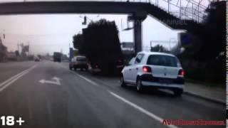 Аварии на видеорегистратор 2013 159   Сar crash compilation 2013 159
