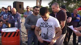 Rocky Balboa против зверского бойца !!!