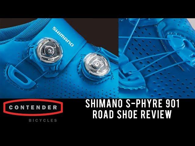 Видео Велотуфли Shimano S-Phyre SH-RC901MB черные