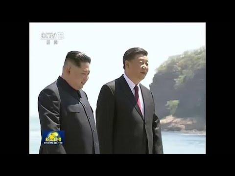 Ξανά στην Κίνα ο Κιμ Γιονγκ Ουν – Συναντήθηκε με τον πρόεδρο Σι Τζινπίνγκ…