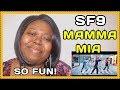 SF9 Mamma Mia Reaction [MV]