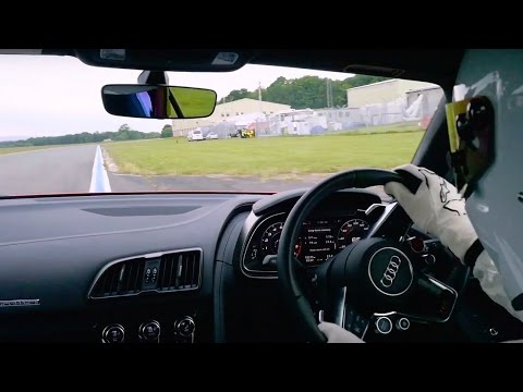 StigCam: Audi R8 V10 Plus | Top Gear