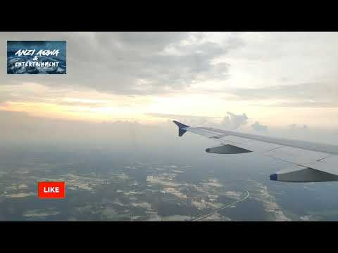 Surat airport to Delhi by indigo airlines | beautiful scene scenery | amazing flight landing #surat