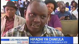 Wakulima kaunti ya Uasin Gishu wakutana na mwenyekiti wa mamlaka ya hifadhi ya chakula Noah Wekesa