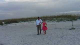 Our Beach Wedding (Svatba na plazi) - Ashley (bridesmaid) & Oli (groomsman)