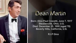 Come Back To Sorrento (Torna A Surriento) ~ Dean Martin ~ HD