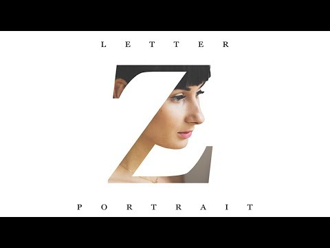 How to Create Letter Portrait    Photoshop Tutorial