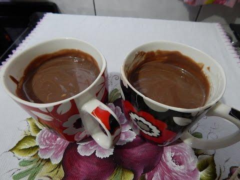 CHOCOLATE QUENTE CREMOSO | RECEITAS DA CRIS
