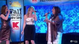 Wilson Phillips performs I Wish It Could Be Christmas Everyday on Good Morning America