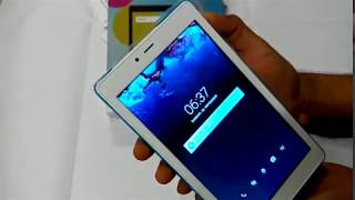 Alcatel One Touch Pixi 4 9003X 7 inch Tablet Unboxing Start And Setup