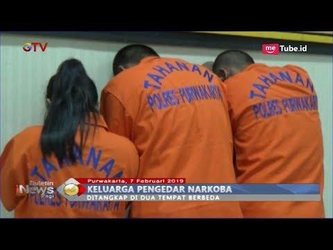 Polisi Tangkap Satu Keluarga Pengedar Narkoba di Purwakarta - BIP 08/02