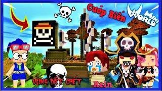 Mini World vùng đất chết tập 3: Khám phá tàu hải tặc   Phong Cận Tv