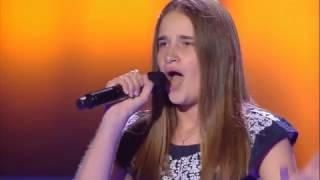 """María: """"Cero"""" - Audiciones a Ciegas - La Voz Kids 2017"""