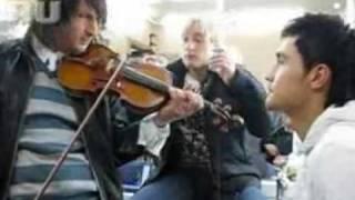 """Believe"" rehearsal. Eurovision 2008 Russia Dima Bilan"