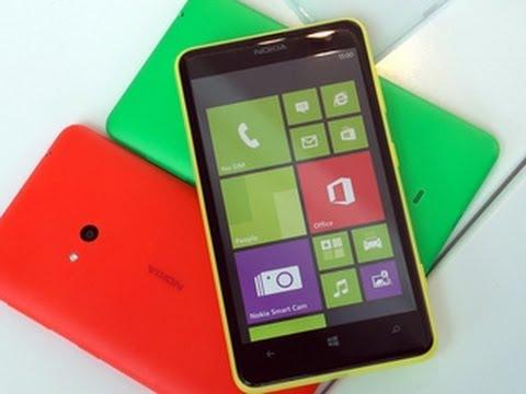 The big, colourful Nokia Lumia 625