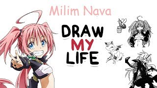 Milim Nava  - (That Time I Got Reincarnated as a Slime) - Milim Nava - Tensei Shitara Slime Datta Ken | Biography & Facts You Didn't Know | Draw my Life
