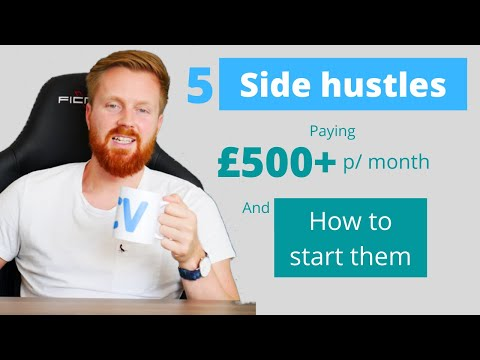 , title : '5 side hustle ideas to earn money quickly  + how to start them [UK edition]