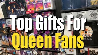 Best Gifts For Queen Fans - Bohemian Rhapsody Merchandise Books Vinyl Blu-Ray