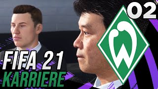 Fifa 21 Karriere - Werder Bremen - #02 - TRANSFERS OHNE ENDE! ✶ Let's Play