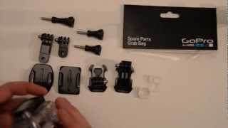 Grab Bag Of Mounts Unboxing: GoPro Tips and Tricks