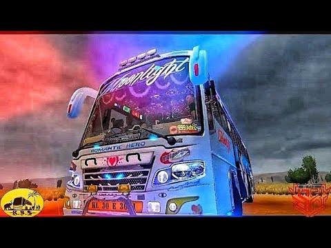 Heavy bus simulator (kerala bus moonlight skin) - игровое