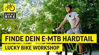 Einfach das richtige E-MTB-Hardtail | Dein Bike finden und durchstarten!